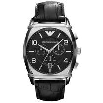 Relógio Empório Armani Ar0347 Crono Em 12 X Sem Juros!