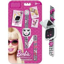 Relogio Digital Pulseira Divertida Barbie Infantil Menina