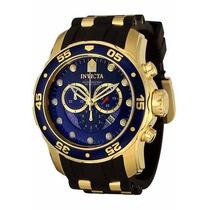 Relógio Invicta Scuba Diver 6983 Ouro! P/entrega!!!