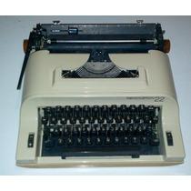 Antiga Máquina De Escrever Remington 22 Sperry Funcionando