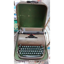 Antiga Maquina De Escrever Remington Quiet-riter
