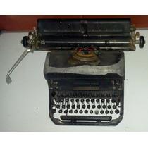 Máquina De Escrever Antiga Remington Rand - Anos 50