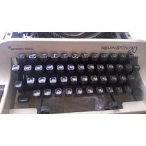 Máquina De Escrever Remington 20 - Sperry Rand