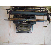 Maquina De Escrever Remington Antiga