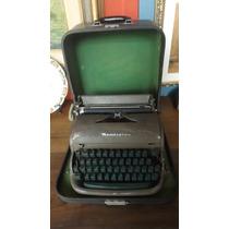 Máquina De Escrever Antiga Remington Rand