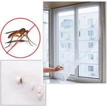 Tela Mosquiteira 120x150 Branca Velcro Mosquito Insetos