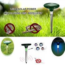 Repelente De Energia Solar De Ratos , Cobras + Frete Grátis