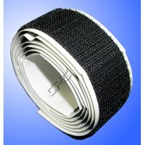 Velcro Com Adesivo Para Tela Mosquiteira 2,5cm X 8 Metros