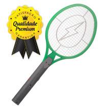 Kit C/10 Raquete Elétrica Recarregável Bivolt Mata Mosquito