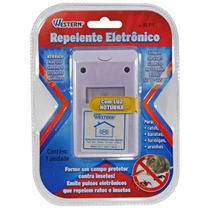 Repelente Inseto Luz Noturna Barata Eletronico Ratos Bivolt