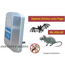Repelente Eletrônico - Moscas, Morcegos, Pernilongos E Ratos