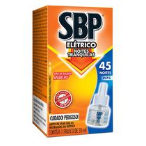 Sbp Repelente Eletrico Liq Refil 45 Noites