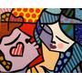 Quadro Tela - Painel Sweet Kiss - Romero Britto