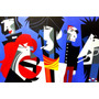 Quadro Pintura Em Tela Rolling Stones (2) - Pablo Lobato