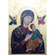 Arte Sacra Óleo Sobre Tela Pintura Quadros- Retrato