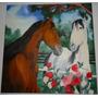 Pintura Óleo S Tela Cavalos