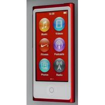 Ipod Nano 7a Geração, Vermelho, 16gb Ram. Mp3 + Rádio. Touch