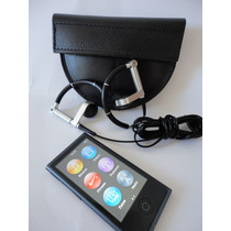 Ipod Nano Cinza Espacial Mkn52bz/a Apple - Frete Gratis