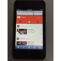 Ipod Touch 4ª Geração 32 Gb - Original Apple + Fone E Cabo