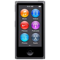 Ipod Nano Apple Mkn52bz/a 16gb 2,5 Rádio Fm Cinza Espacial