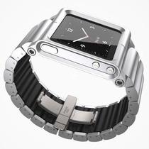 Pulseira Lunatik Lynk Alumínio Para Ipod Nano 6ªg + Película
