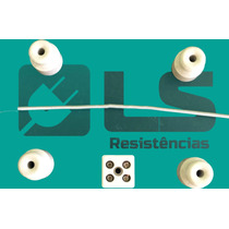 Kit 1 Resistência Chocadeira 110v + 4 Isoladores + 1 Sindal