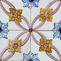 Adesivo Imitando Azulejo Decorativo - 10 X 10 Cm / 01 Dúzia