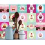 Adesivo De Azulejo Cupcake 20x20 Mais Barato