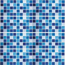 Adesivo Pastilha Azul P 24un. - Durabilidade De 5 Anos