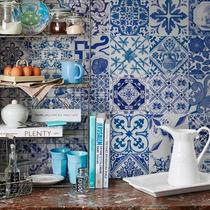 Adesivo De Azulejos Portugueses Clássicos 15x15 I-stick