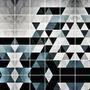 Adesivos De Parede - Azulejos Figuras Geométricas 537