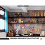Adesivos Decorativos (kit 48un 15x15cm) - Mosaico/azulejo