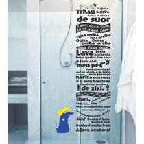 Adesivo Para Banheiro Box Sala Música Castelo Ra-tim-bum
