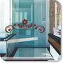 Adesivo Decorativo Parede Box Banheiro Arabesco Frete Grátis