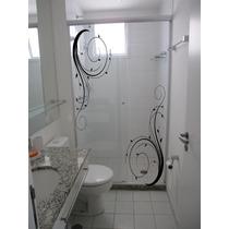 Adesivos Decorativos Box Blindex Espelho Vidro Banheiro