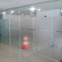 Adesivo Jateado Porta Blindex Box Banheiro Janela 35m X 50cm