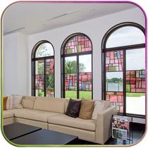 Vitral - Adesivos Para Vidro - Porta Janela Quarto Cozinha