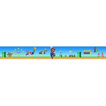 Faixa Border - Super Mario - Personalizado Com O Nome