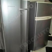 Adesivo Decorativo Envelopamento Geladeira - Prata Tipo Inox