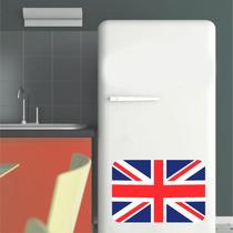 Adesivo Decoração Parede Geladeira Bandeira Inglaterra