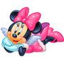 Adesivo Decorativo Recortado Infantil Parede Minie Disney