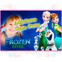 Ultra Painel Festa Decoração Banner Frozen 2,40mx1,30m