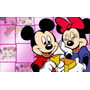 Painel Decorativo Festa 100x150 Cm Mickey E Minnie,minie