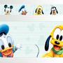 Adesivo 123 Faixa Border Infantil Mickey Baby 05 Un Mod 339