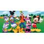 Painel Infantil Decorativo Lona Mickey Mouse 2,00 M X 1,30 M