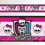 Adesivo 123 Faixa Border Monster High 05 Un Mod 291