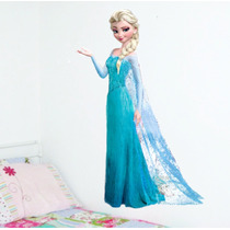 Adesivo De Parede Frozen Quarto Porta Menina Olaf Elsa Lindo
