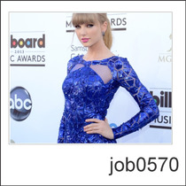 Adesivo Taylor Swift Cantora Americana Vestido Job0570
