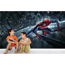 Adesivo Painel Infantil Homem Aranha Herois Avengers M13