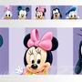 Adesivo 123 Faixa Border Disney Minnie Baby 05 Un Mod 230
